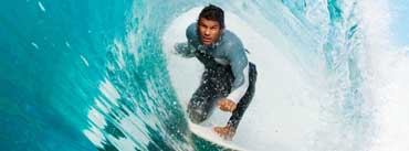Surfing A Wave Cover Photo