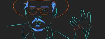 Johnny Depp Art Cover Photo