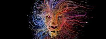 Lion King Digital Art Cover Photo