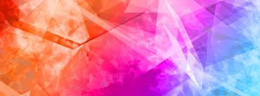 Colorful Abstract Polygonal Cover Photo