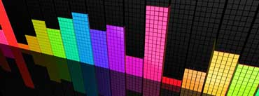 Colorful Equalizer Cover Photo