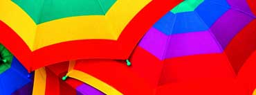 Colourful Umbrella Cover Photo