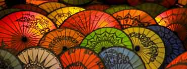 Japanese Umbrellas Cover Photo