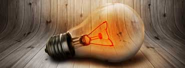 Lit Bulb Cover Photo