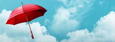 Red Umbrella Cover Photo