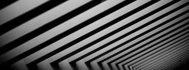 Black And White Stripes Cover Photo