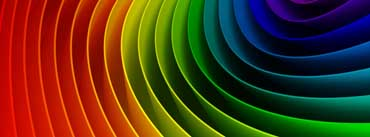 Rainbow Art 3d Cover Photo