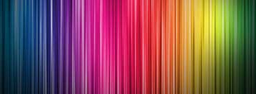 Rainbow Background Cover Photo