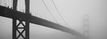 Golden Gate In Fog Cover Photo