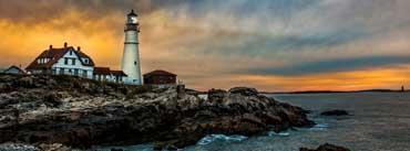 Portland Head Light Lighthouse Cover Photo
