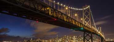 San Francisco Oakland Bay Bridge Cover Photo