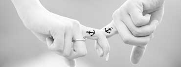Matching Couple Tattoos For Lovers Cover Photo
