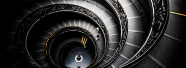 Spiral Stairs Vatican Museums Cover Photo