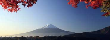 Autumn Mount Fuji Japan Cover Photo