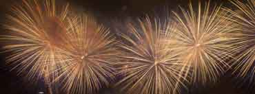 New Years Celebration Fireworks Cover Photo