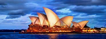 Sydney Glows At Sunset Cover Photo