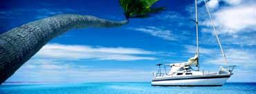 Sea Ocean Steamer Island Cover Photo