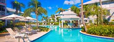 Tropical Resort Pool Cover Photo