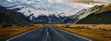 Road To Mount Cook Cover Photo