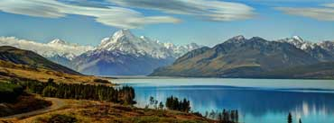 Aoraki Mount Cook National Park Cover Photo