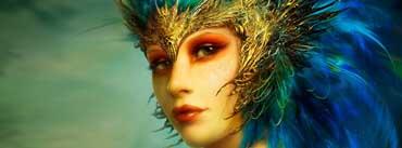 Fantasy Girl Face Cover Photo