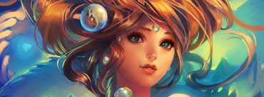 Girl Under Water-art Cover Photo
