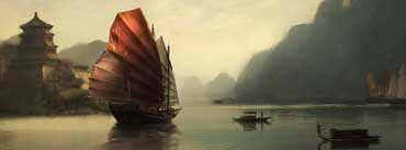 Chinese Ship Painting Cover Photo