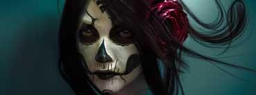 Skull Girl Cover Photo
