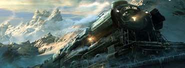 Train Travel Fantasy Cover Photo