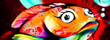 Fish Graffiti Art Cover Photo