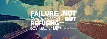 Failure Quote Cover Photo