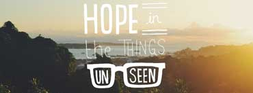 Hope In The Things Unseen Cover Photo