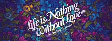 Life Nothing Without Love Cover Photo