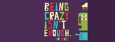 Being Crazy Isnt Enough Cover Photo