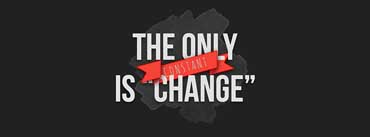 The Only Constant Is Change Quote Cover Photo