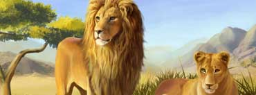 Lion Family Cover Photo