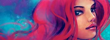 Redhead Girl Painting Cover Photo