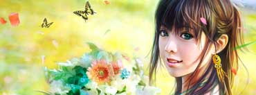 Smiling Girl Cover Photo
