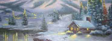 Winter House Painting Cover Photo
