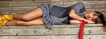 Beautiful Girl Sleeping Cover Photo