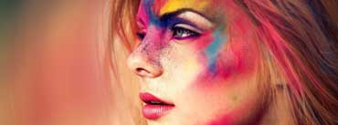 Colorful Face Cover Photo