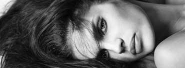 Alesia Riabenkova Black And White Cover Photo