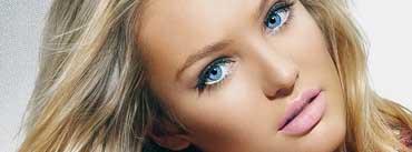 Candice Swanepoel Portrait Cover Photo