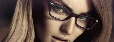 Candice Swanepoel Glasses Cover Photo