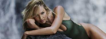 Candice Swanepoel Swimsuit Model Cover Photo