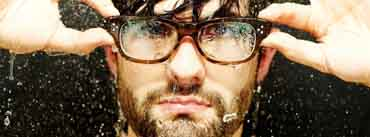 Man With Glasses Cover Photo