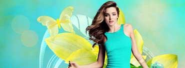 Beautiful Miranda Kerr Cover Photo