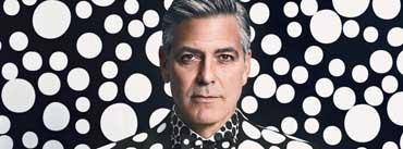 George Clooney Suit Cover Photo