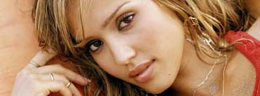Beautiful Jessica Alba Cover Photo