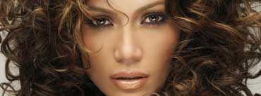 Jennifer Lopez Curly Hair Cover Photo